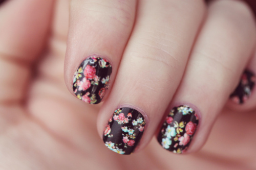 Vintage Nail Art Ideas Day To Night Bliss No 9
