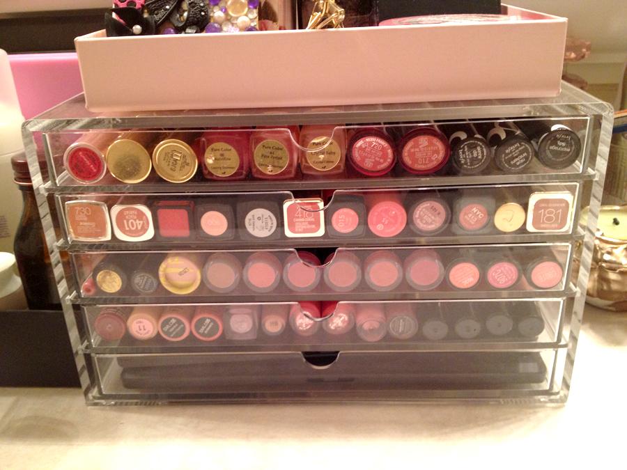 My 5 Drawer Muji Makeup Storage Bliss No 9